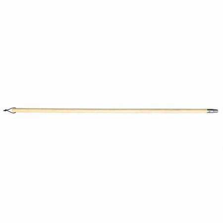 - Premier Paint Roller 4ft Wood Pole with threaded Metal Tip