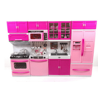 Large XXL Doll Play Kitchen For Toddlers Toy Kitchen Features Lights And Sounds Perfect Pretend Play Kitchen