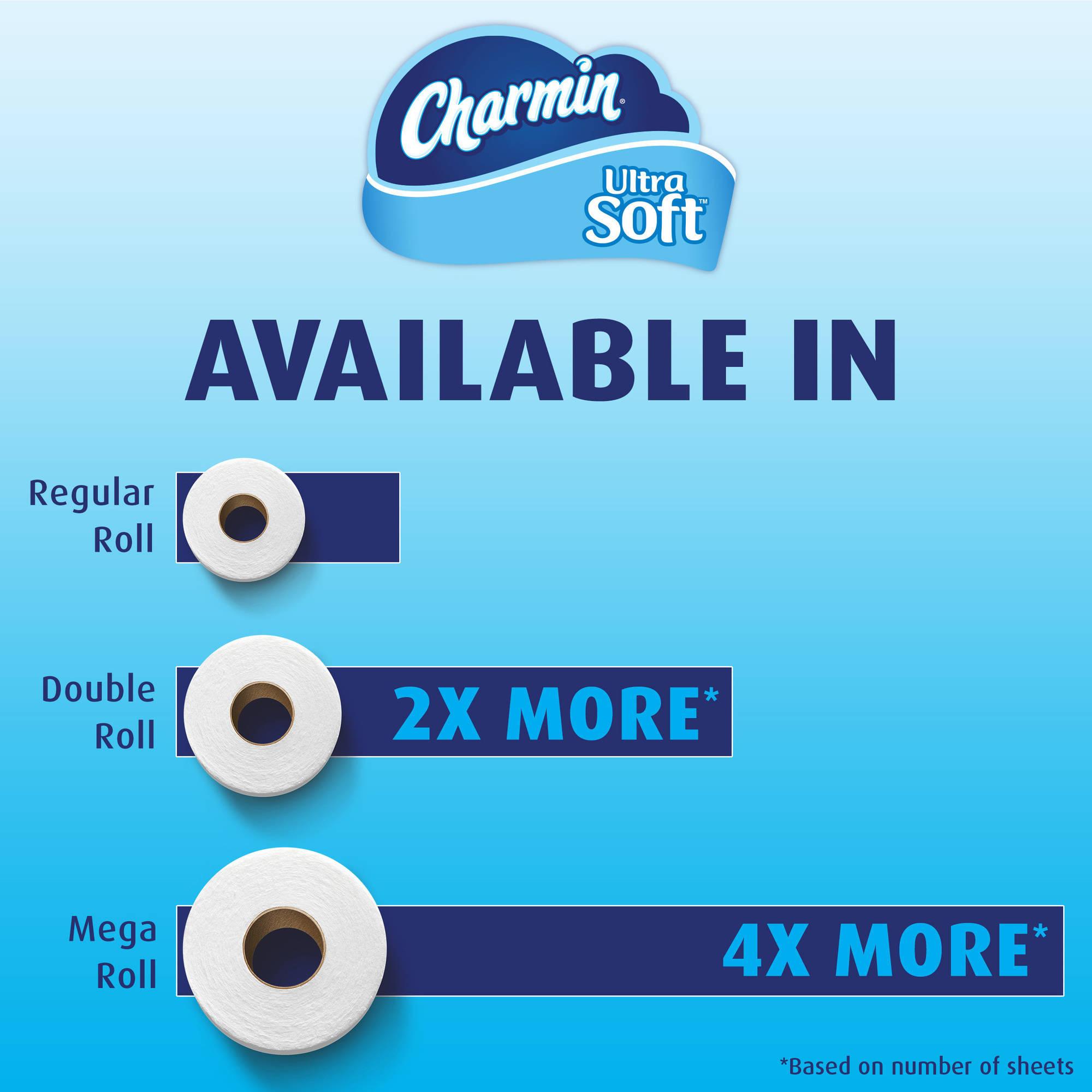 Charmin Ultra Soft Blue 9 Mega - Walmart.com