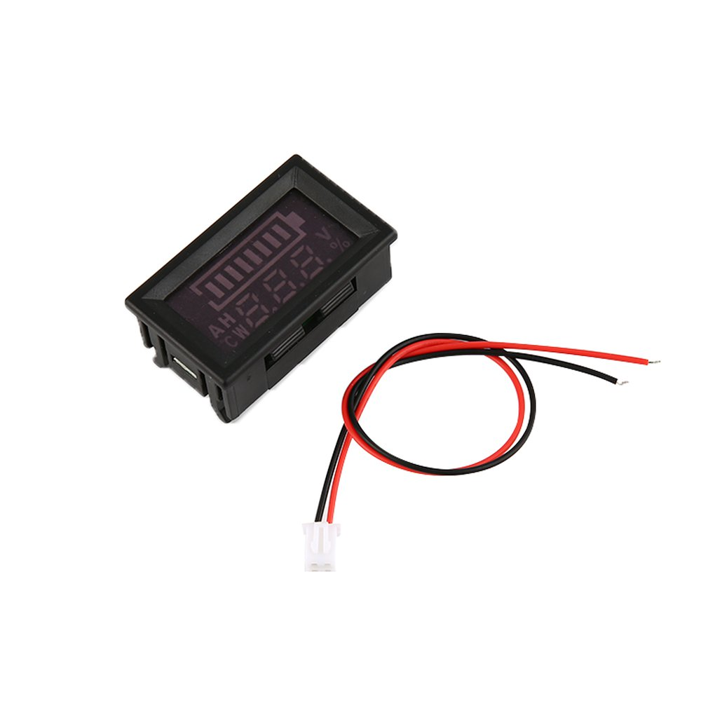 Leshp 5 80v Led Digital Display Panel Battery Percentage Voltmeter Wiring Car Voltage Meter