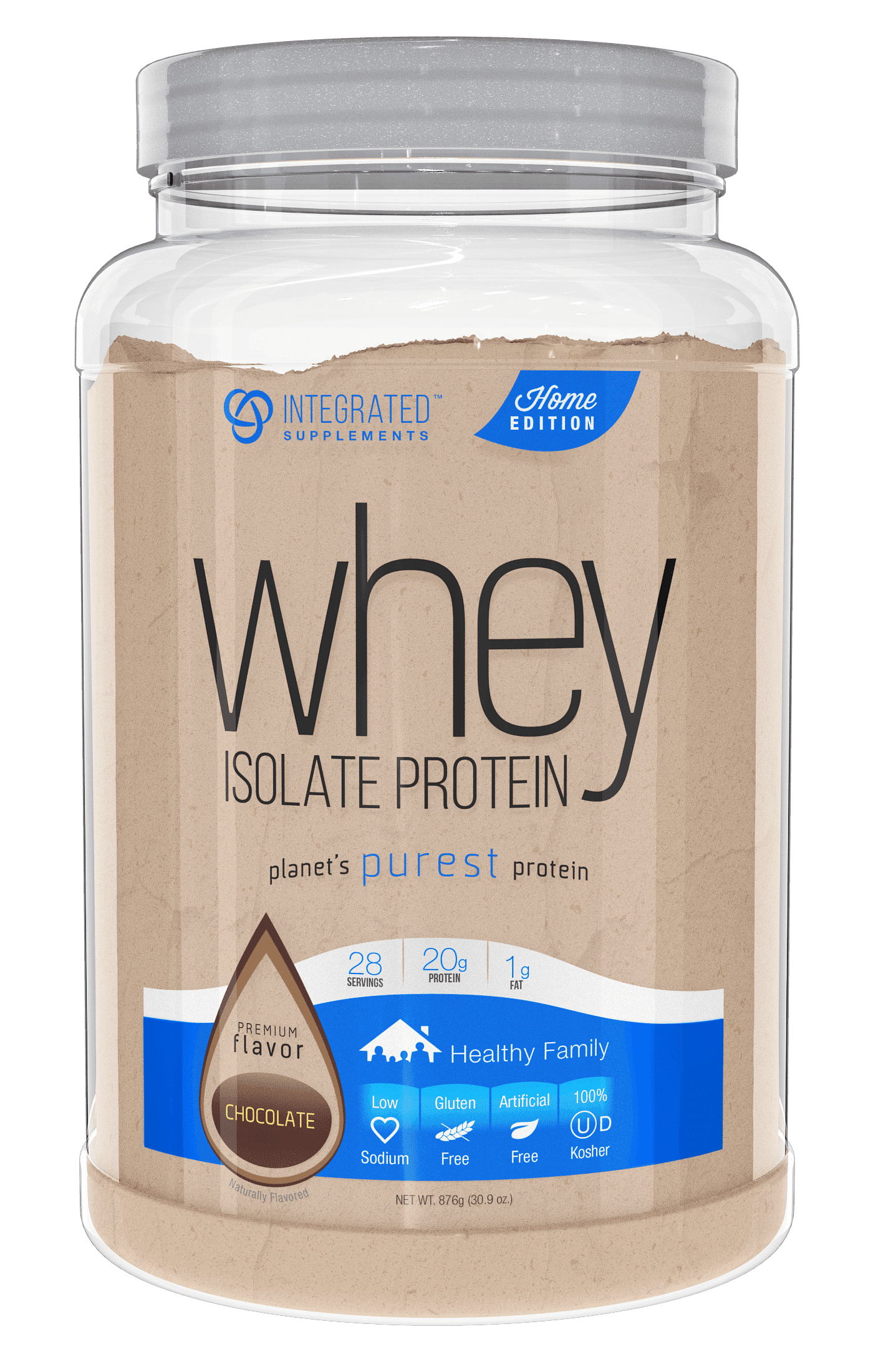 Insta Supplement Magazine: Planet's Purest Protein: Whey Isolate Protein