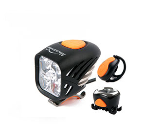 Magicshine MJ906 5000 Lumen Front /& Tail LED Bike Light Combo Battery Included