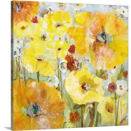 Great Big Canvas Jill Martin Premium Thick Wrap Canvas Entitled Spring Partners