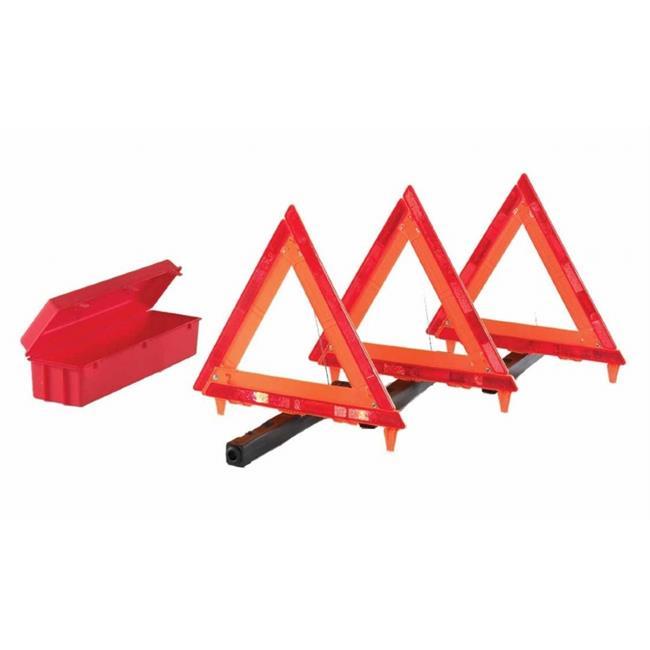 Cortina 831-95-03-009 Triangle Warning Kit, 18 inch, Red-Hi-Viz Orange
