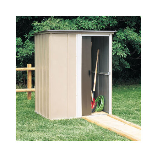 Bundle-63 Arrow Brentwood  Steel Tool Shed (2 Pieces)