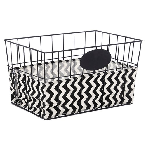 Homezone Large Wire Basket with Liner