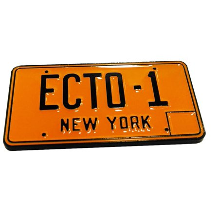 Ghostbusters Exclusive Ecto-1 License Plate Pin | Perfect For Ghostbuster Fans - Ghostbusters Decorations