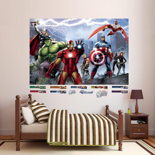Fathead Avengers Assemble Mural