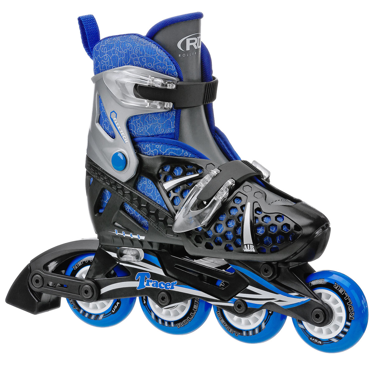 Roller Derby Tracer Boy's Adjustable Inline Skates - I140B