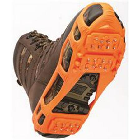 Stabilicers Walk Ice Traction Gear, Stretch On, Orange, Medium