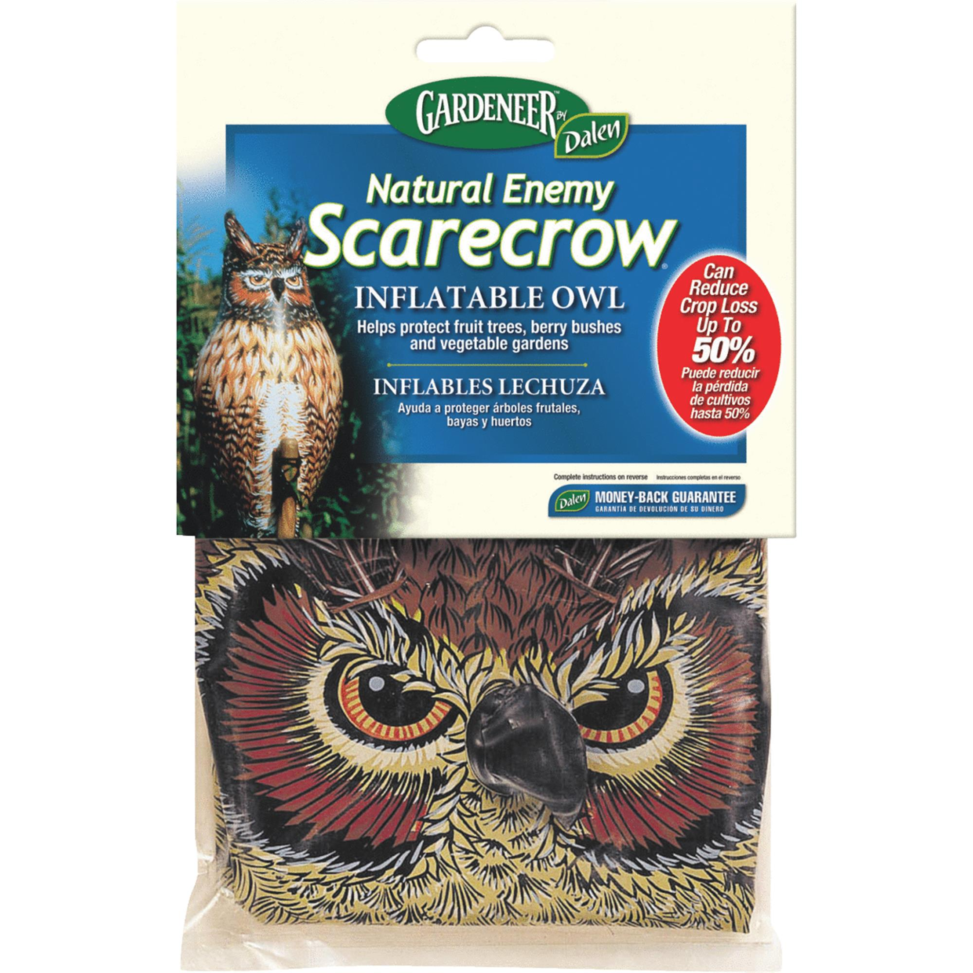 Great Horned Owl Pest Repellent Decoy