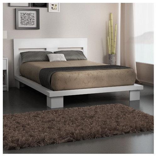 Stellar Home Furniture Cosmopolis Queen Platform Bed