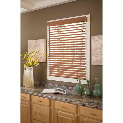 "Richfield Studio 2"" Faux Wood Blinds, Width: 41""-72"", Length: 64"""