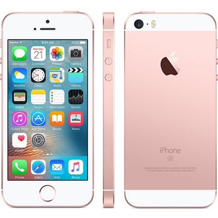 huge selection of 847c6 b340f Apple iPhone SE 64GB Rose Gold - Unlocked GSM (Certified Refurbished)
