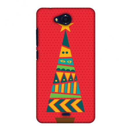 Micromax Canvas Play Q355 Case, Premium Handcrafted Designer Hard Shell Snap On Case Printed Back Cover with Screen Cleaning Kit for Micromax Canvas Play Q355, Slim, Protective - Christmas Cheer 2