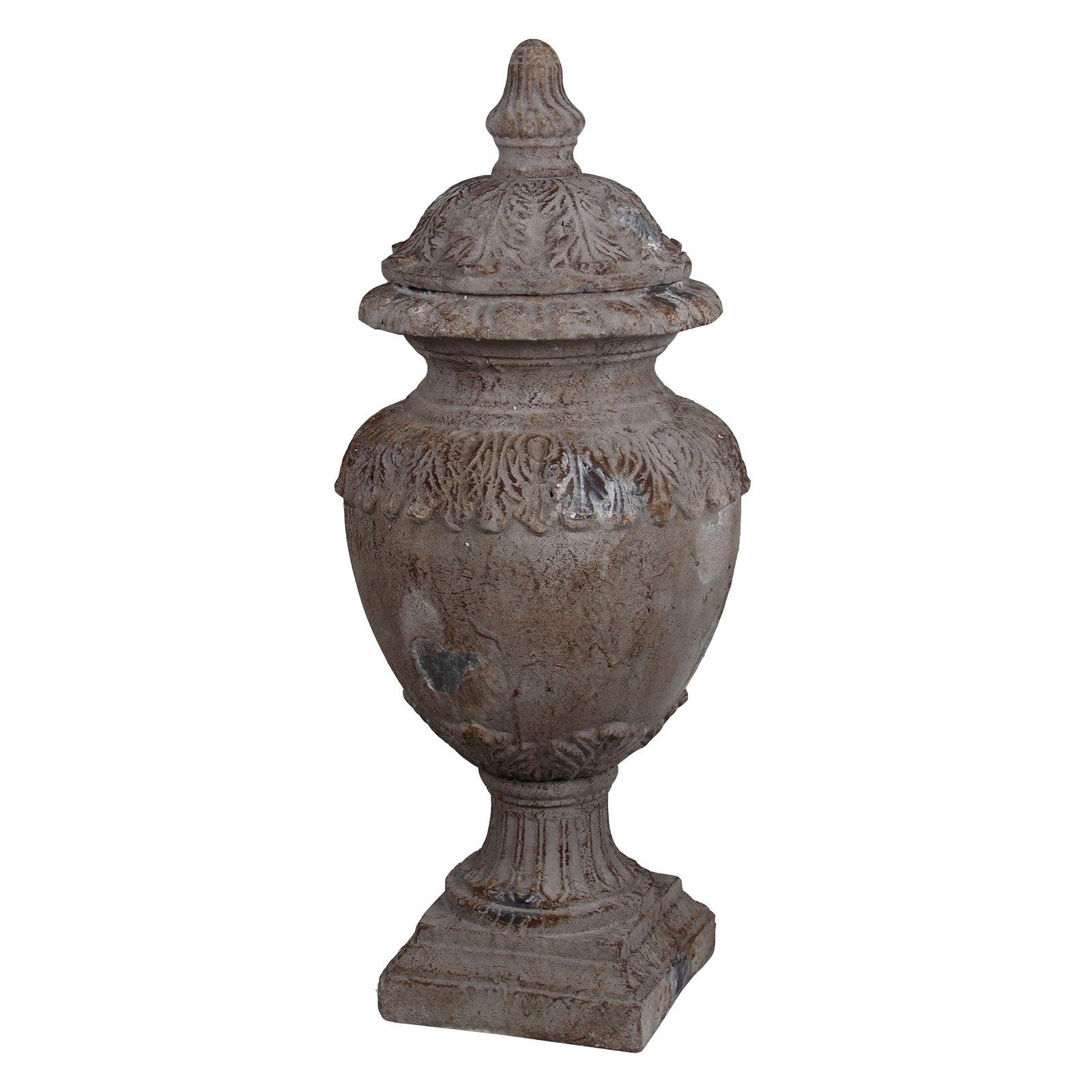 Privilege International 33 in. Ceramic Urn by Privilege