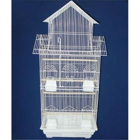 Tall Pagoda Top Small Bird Cage in