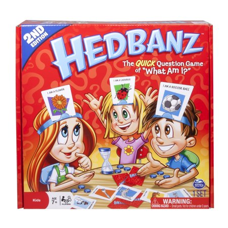 Spin Master Games, HedBanz Board Game, Second Edition by