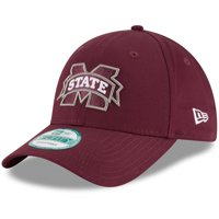 Mississippi State Bulldogs New Era The League 9FORTY Adjustable Hat - Maroon - OSFA
