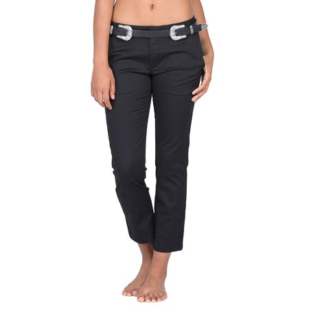 Solid Junior Classic Chino Pants Stretch 3
