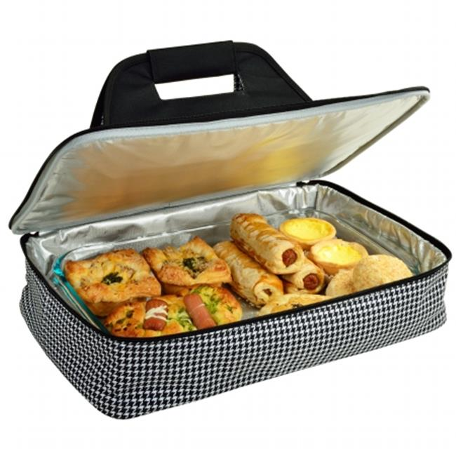 Picnic at Ascot 530-HT Insulated Casserole Carrier - Houndstooth