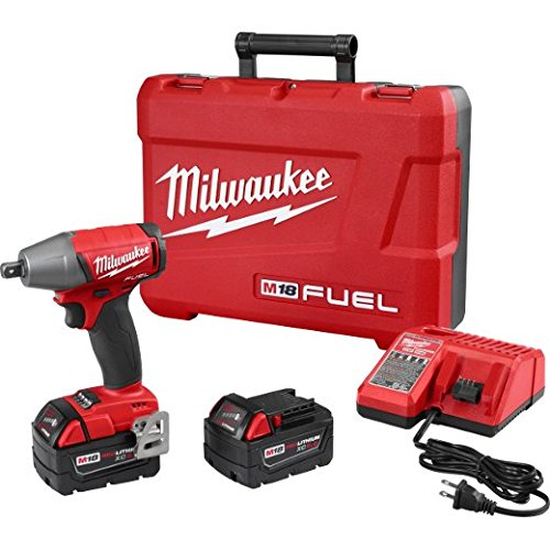 "Milwaukee 2755-22 M18 Fuel 1/2"" Impact Wr- Xc Kit"