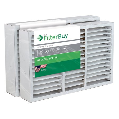 20x25x5 Coleman Replacement AC Furnace Air Filters - AFB Silver MERV 8 - Pack of 2 Filters. Designed to replace FS2025, M8-1056, MU2025, 9183970.
