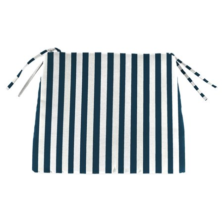 Jordan Manufacturing 16.5 in. Outdoor Seat Cushion - Stripe Oxford ()