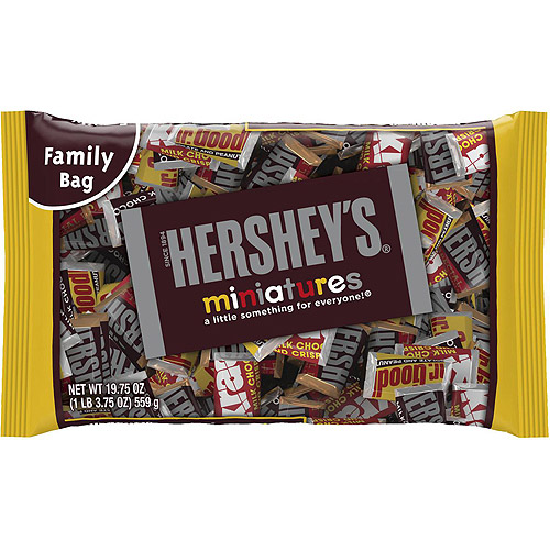 Hershey's Chocolate Miniatures Assortment, 19.75 Oz