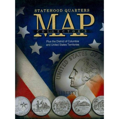 Statehood Quarters Map