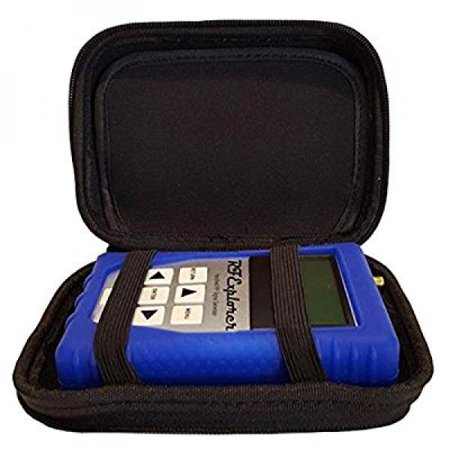 Rf Explorer Signal Generator With Blue Eva Case   Blue Protection Boot