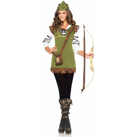 Leg Avenue 3-Piece Robin Hood Honey Adult Halloween Costume - Halloween Honey
