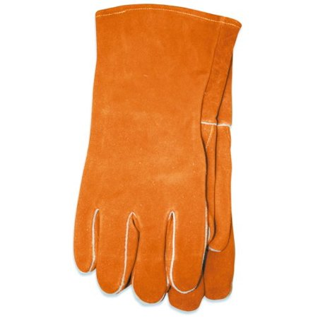 US Forge 99408 Welding Gloves Leather, XL, Brown