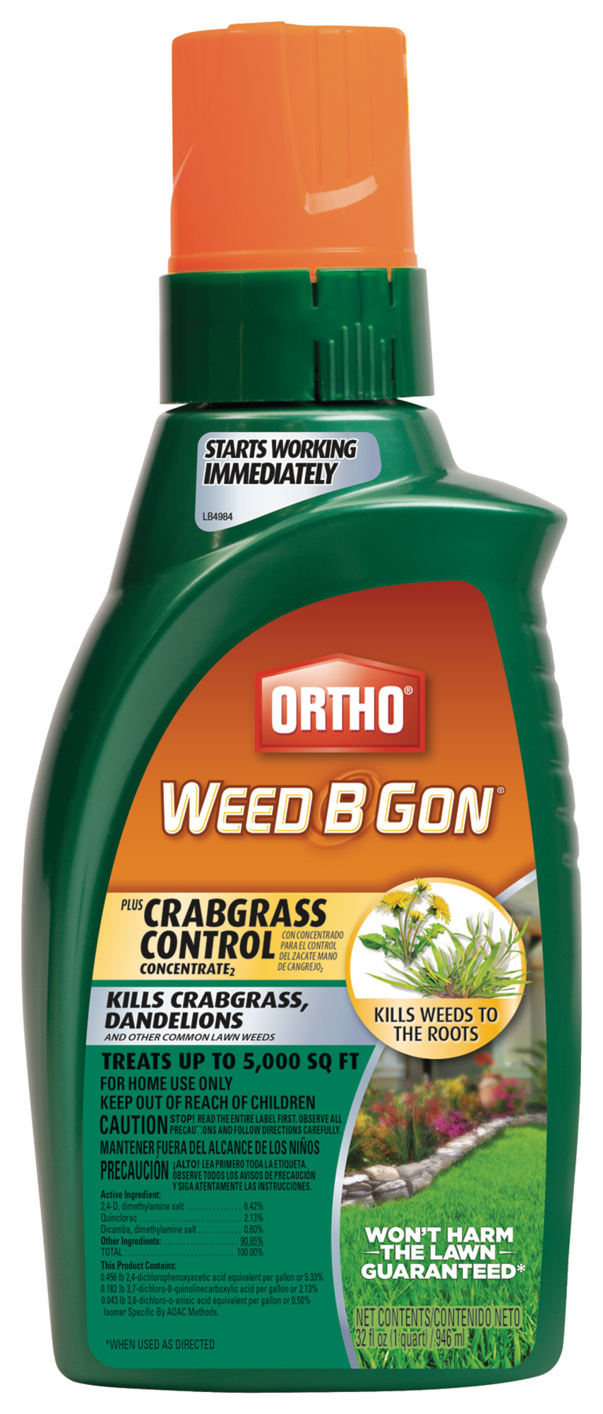 Weed B Gon Max Plus Crabgrass Control Concentrate