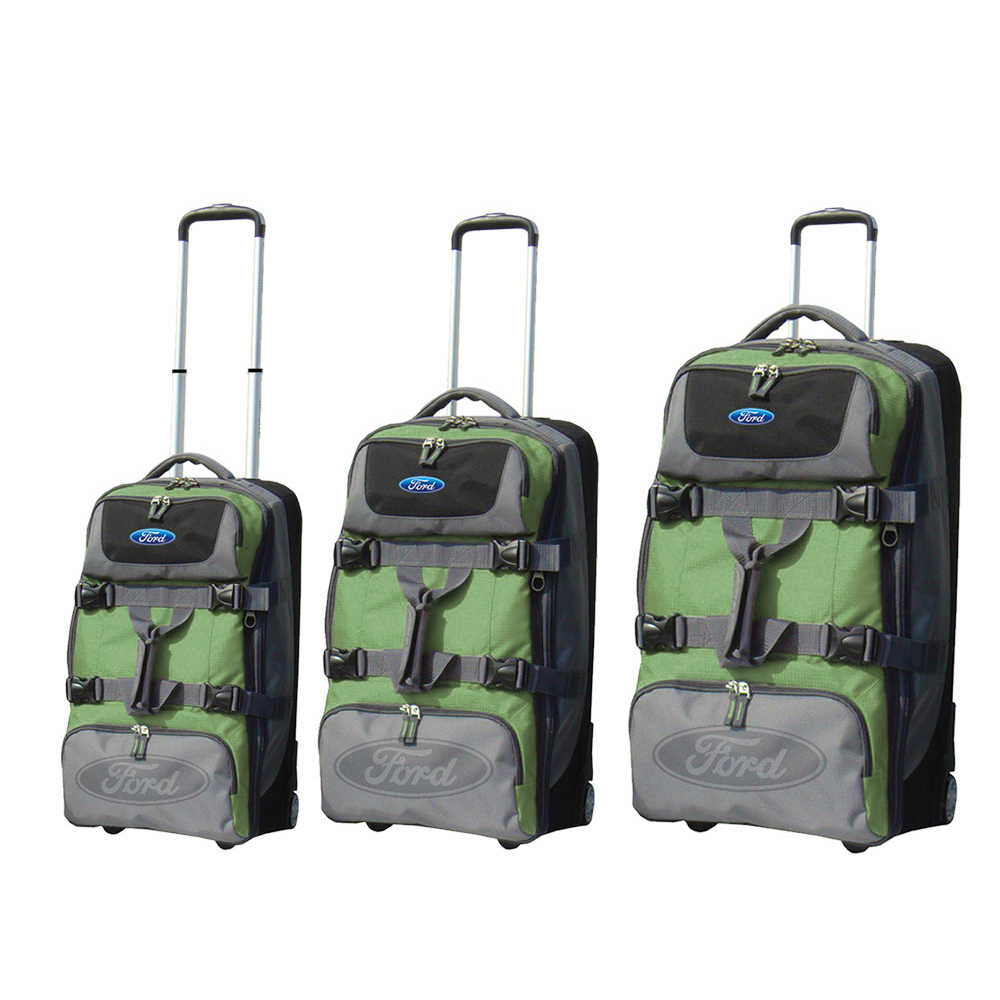 Travelers Club Ford Explorer Series 3-Piece Upright Duffe...