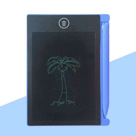 LCD Writing Tablet,4.4 Inch Portable Electronic Writing Drawing Board Doodle Pads, Digital Handwriting Notepad with Stylus Use for School, Home and Office, Great Gift for Kids & Adults. (Blue) - image 7 of 10