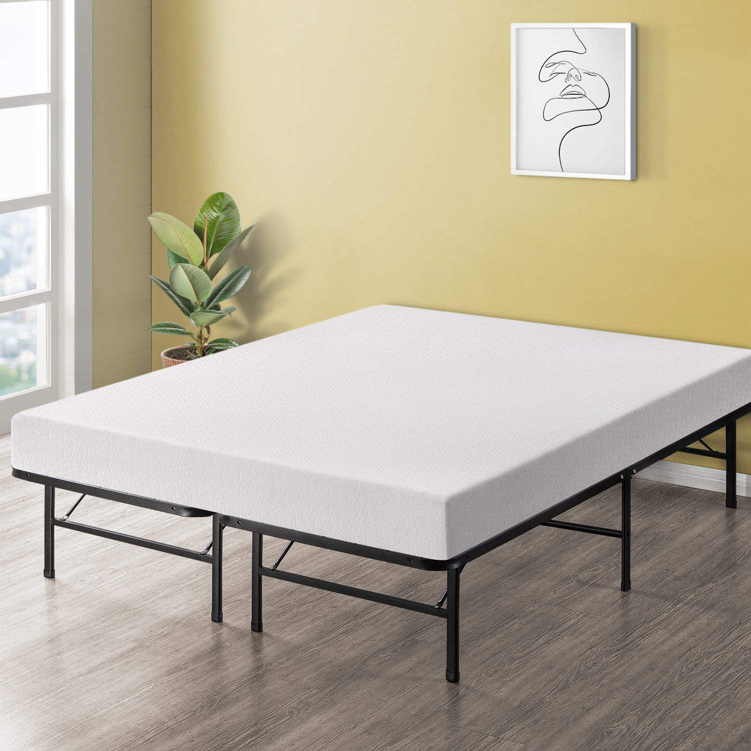 Best Price Mattress 8 Inch Memory Foam Mattress - Walmart.com