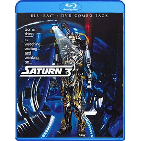 SATURN 3 (BLU-RAY/DVD COMBO/2 DISC/WS 1.85) (Blu-ray) - Farrah Fawcett Outfits