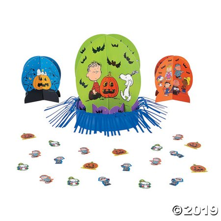 Decorate Halloween Party Cheap (Peanuts® Halloween Table Decorating)
