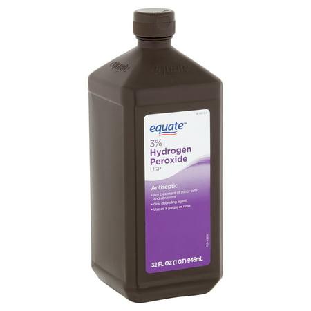 Equate 3% Hydrogen Peroxide USP Antiseptic, 32 fl oz