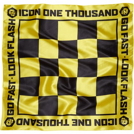 ICON - 1000™ Neck Wrap Tie-On (Slickery Black/Yellow, One Size Fits Most)