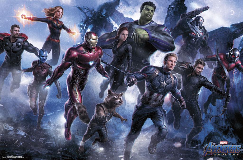Avengers Poster Walmart