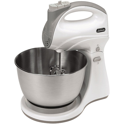Sunbeam Hand Stand Mixer, White by JARDEN CONSUMER SOLUTIONS
