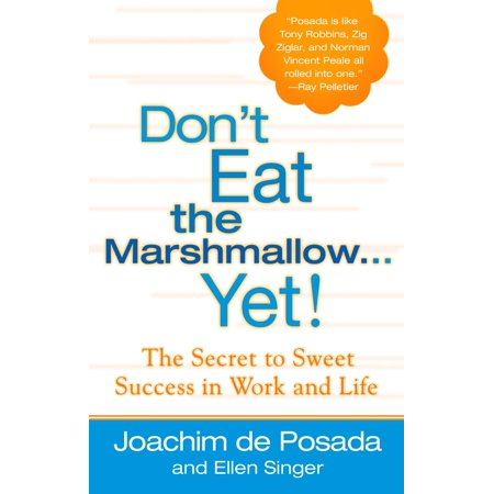 Don't Eat the Marshmallow Yet! : The Secret to Sweet Success in Work and