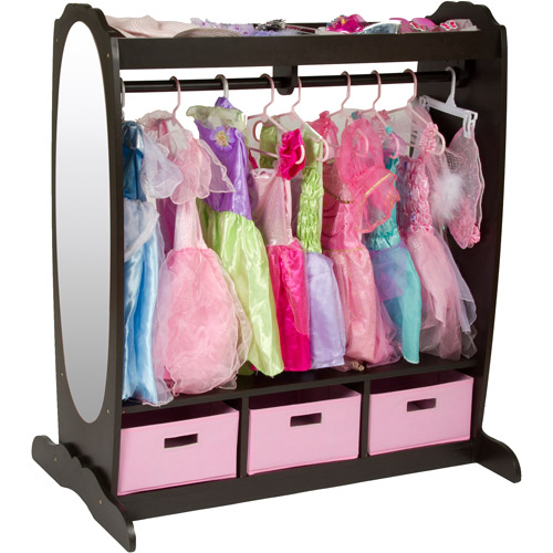 Guidecraft Dress Up Storage, Multiple Colors