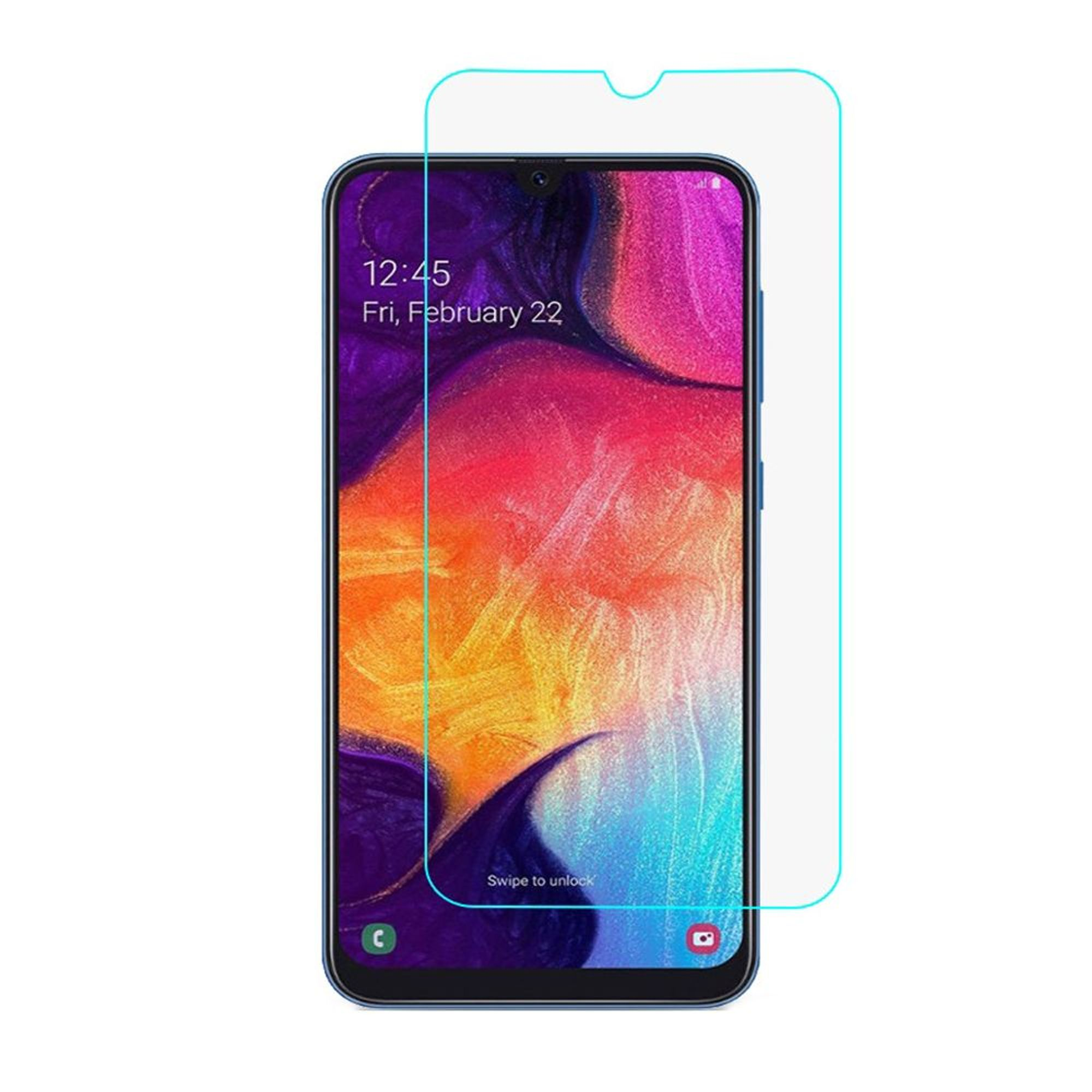 For Samsung Galaxy A20/A50 Screen Protector, by Insten 25 ...