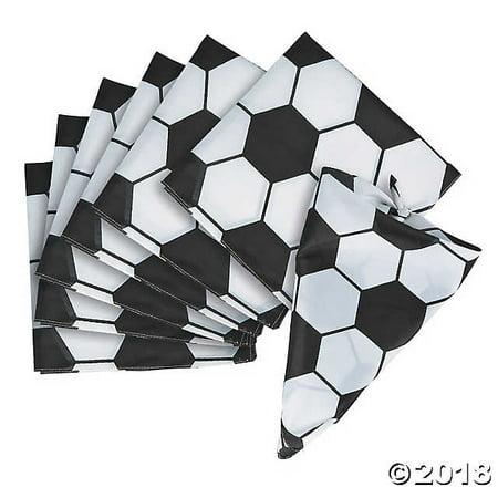 Soccer Bandanas, Set of 3