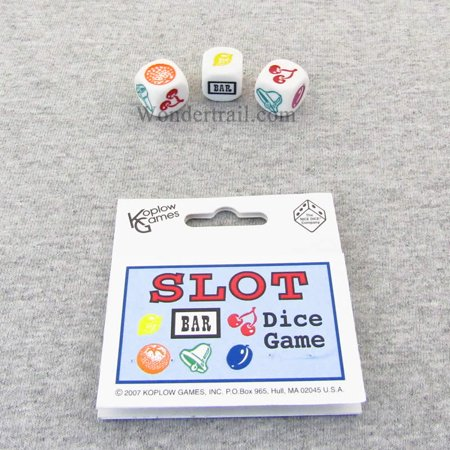 Slot Dice Game D6 16mm (5/8in) Koplow Games (Best Slots To Play At Casino)