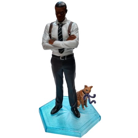 - Captain Marvel Nick Fury with Goose PVC Figure [No Packaging]