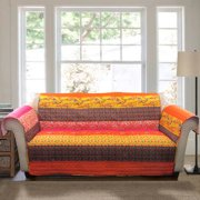 Royal Empire Furniture Protectors, Tangerine Sofa Couch Cover